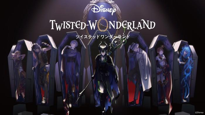 Disney Twisted-Wonderland Smartphone Game Gets Anime Project