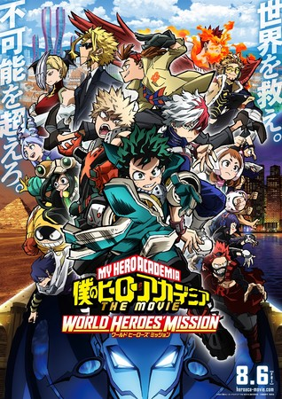 Odex to Screen MHA: World Heroes' Mission, Free! The Final Stroke Films in Southeast Asia