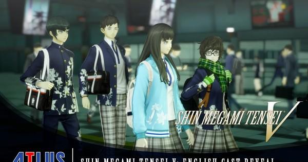 Shin Megami Tensei V Game's Trailer Reveals English Dub Cast