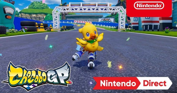 Square Enix Unveils Chocobo GP Racing Game